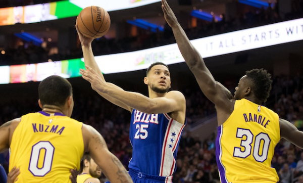 76ers Head Coach Brett Brown Watched Film Of Lakers Legend Magic Johnson With Ben Simmons