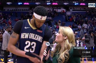 Anthony Davis on Pelicans 119-113 win over Trailblazers
