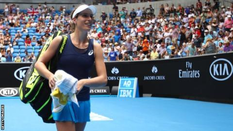 Australia Open: Johanna Konta's views 'don't align' with Margaret Court