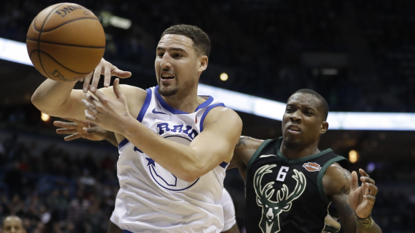 Klay Thompson: Removed Milwaukee fan called me a 'b—'