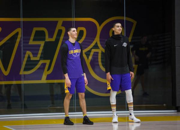 Lakers Video: Kyle Kuzma, Brandon Ingram And Lonzo Ball Make Fun Of Each Other At Movies