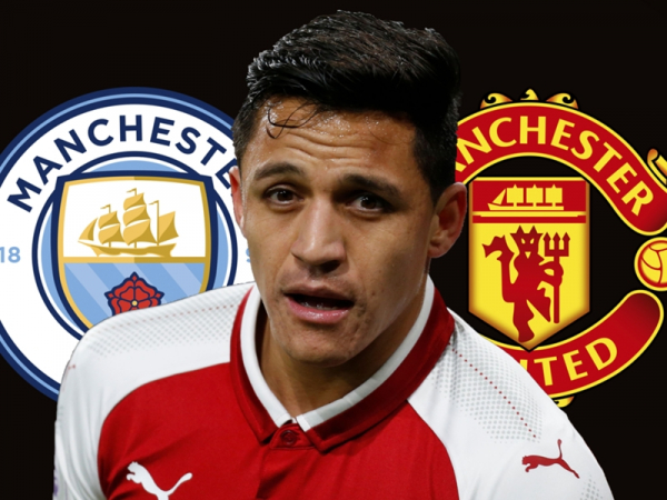 Alexis Sanchez's family arrive in London in preparation for Arsenal exit