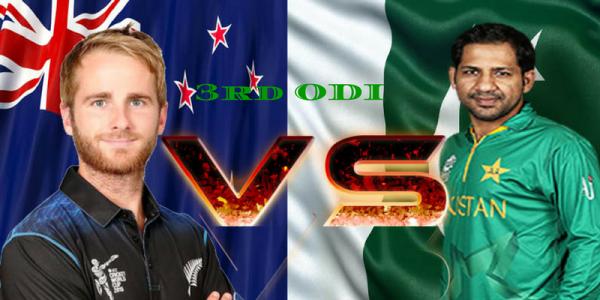 3RD ODI – NEW ZEALAND VS PAKISTAN – FANTASY PREVIEW