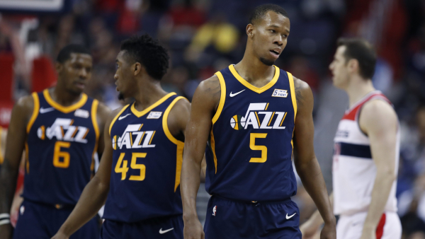 Utah's Rodney Hood fined $35,000 for slapping phone out of fans hand after ejection