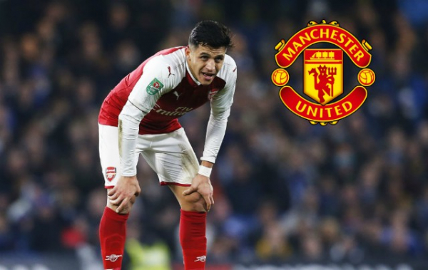 Arsenal request transfer of dream Alexis Sanchez replacement in Manchester United swap deal