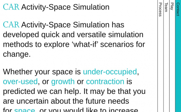 Activity-Space Simulation