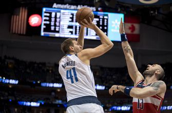Mavs slow recent slide with season sweep of Wizards, 98-75