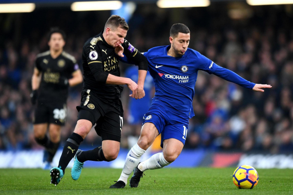 Chelsea 0 Leicester City 0: Below-par Blues held to third straight stalemate by 10-man Foxes