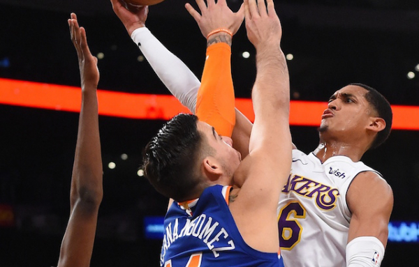 Lakers Highlights: Julius Randle Dominates, Jordan Clarkson And Alex Caruso Provide Spark Off Bench To Key Win Over Knicks