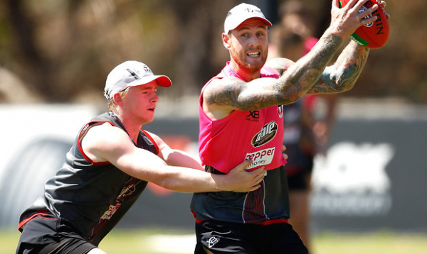 Membrey ticking all the boxes
