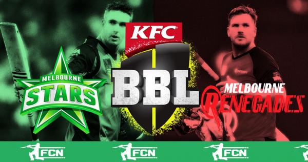 BBL Match 19 – Melbourne Stars V Melbourne Renegades – Fantasy Preview