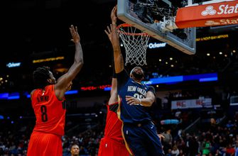 Davis returns, leads Pelicans past Blazers, 119-113