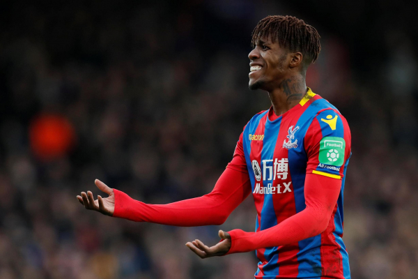 Wilfried Zaha can play for a much bigger club than Crystal Palace, says former boss Frank de Boer
