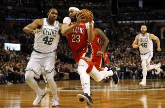 Anthony Davis on 45 point night in New Orleans win over Boston