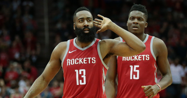 James Harden Says Rockets Are 'For Real As It Can Get'