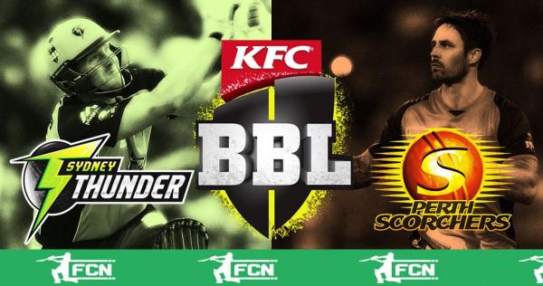 BBL Match 25 – Sydney Thunder V Perth Scorchers – Fantasy Preview
