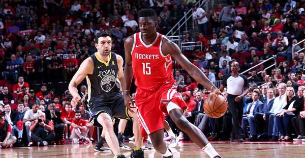Clint Capela Says Rockets Are Better Than the Warriors