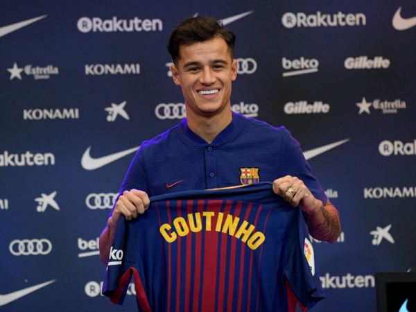 'He's a huge player' - Materazzi not surprised by Coutinho's massive transfer fee