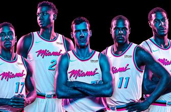 "Heat to debut 'Vice"" city uniforms Jan. 25 against Kings"