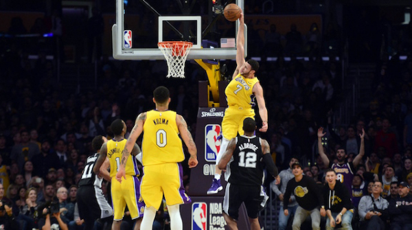 Lakers Highlights: Larry Nance Jr. Big Dunk, Brandon Ingram And Lonzo Ball Keep Up Level Of Play Against Spurs
