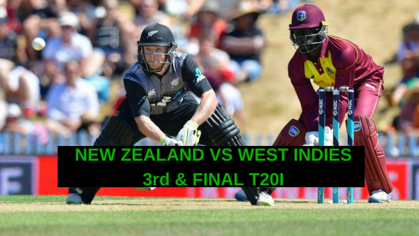 3rd T20I – NEW ZEALAND VS WEST INDIES – FANTASY PREVIEW