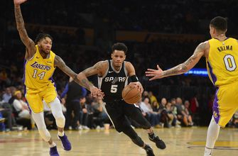 Ingram sends Lakers past Spurs to 3rd straight win, 93-81