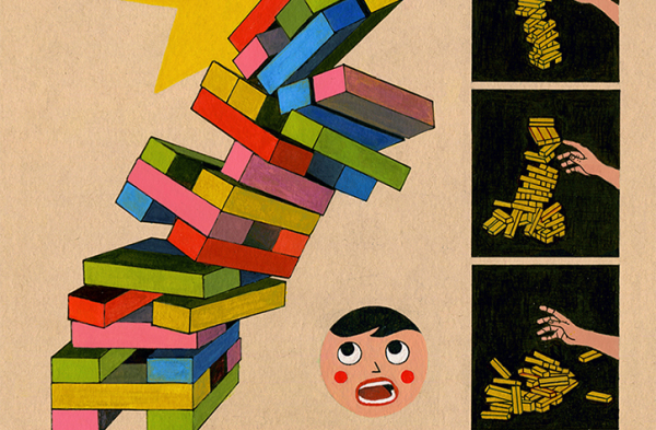 Toys and fairytales: Toma Vagner's charming, imaginative illustrations