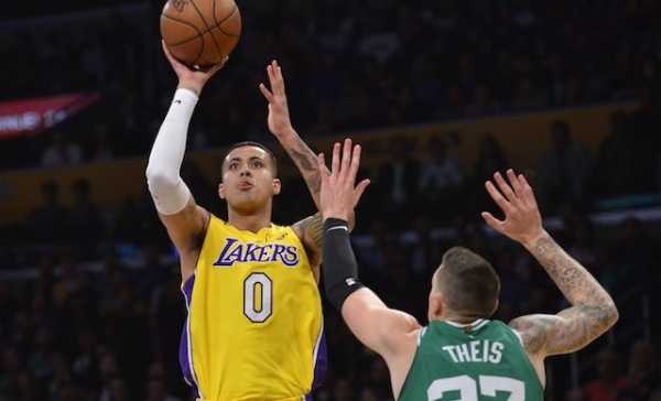 Kyle Kuzma Catches Fire In 4th Quarter To Lead Lakers Past Celtics