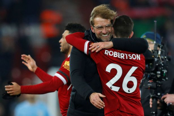 Liverpool defender Andrew Robertson insists Reds CAN improve on Manchester City display