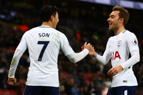 Tottenham lining up contract talks with Christian Eriksen and Heung-min Son