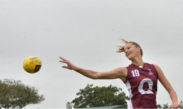 Women's Academy star wins Mackay Sportsperson of the Year