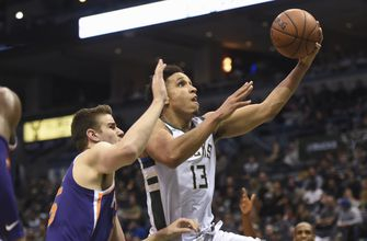 Short-handed Bucks top Suns 109-105 hours after firing Kidd