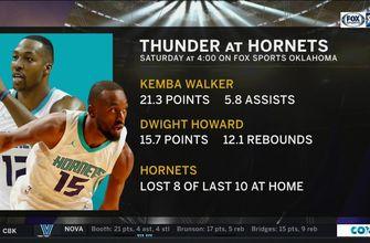 OKC Thunder vs. Charlotte Hornets preview | Thunder Live