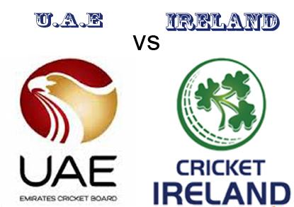 TRI-SERIES – 1ST MATCH – UAE VS IRELAND – FANTASY PREVIEW