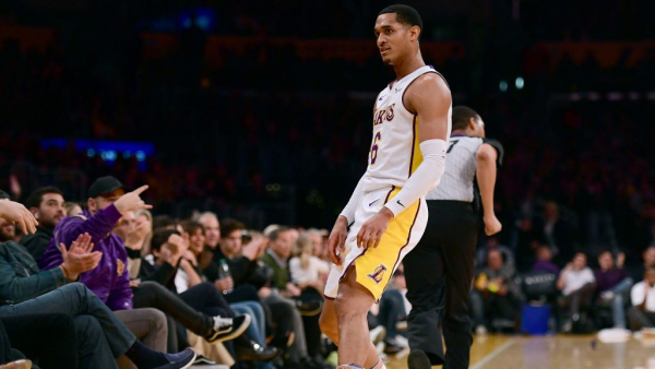 Jordan Clarkson on Lakers' win over Knicks: 'We just kept the foot on their nut and just kept pushing'