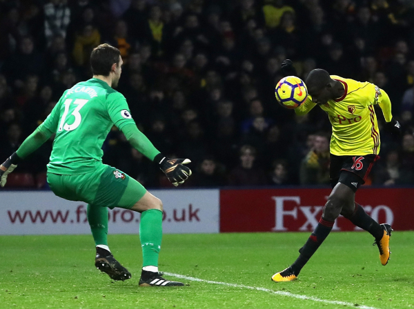 Abdoulaye Doucoure scores controversial injury-time equaliser as Watford hold Southampton