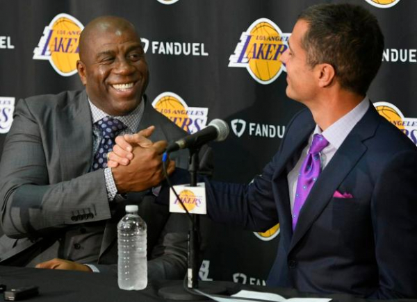 Lakers News: Rob Pelinka Details 'Fun' Working Relationship With Magic Johnson