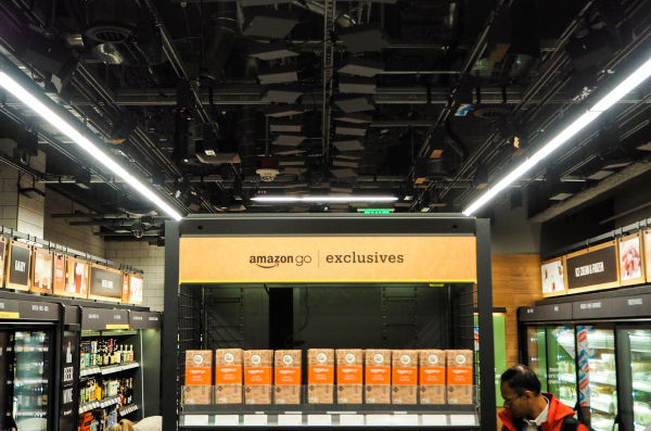 Inside Amazon's surveillance-powered no-checkout convenience store