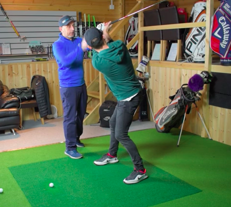 Golf Lesson - Controlling the clubface