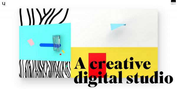 Bright Colors Make an Elegant Return to Web Design