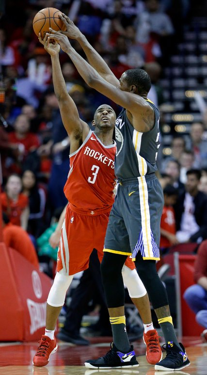 Rockets 116, Warriors 108: Chris Paul Scores 33 as Rockets End Warriors' Road Streak