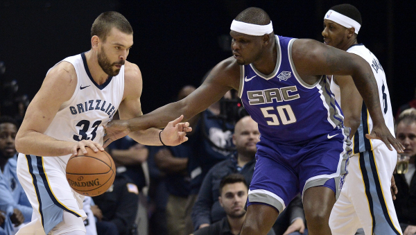 Memphis pays tribute to Zach Randolph as he returns to FedEx Forum