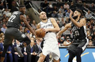 Spurs set for Brooklyn match-up with Nets