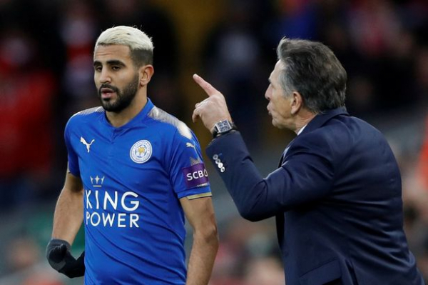 Claude Puel confident Riyad Mahrez will stay at Leicester despite being a top transfer target for cashed-up rivals