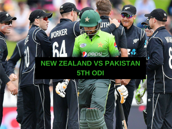 5th ODI – NEW ZEALAND VS PAKISTAN – FANTASY PREVIEW