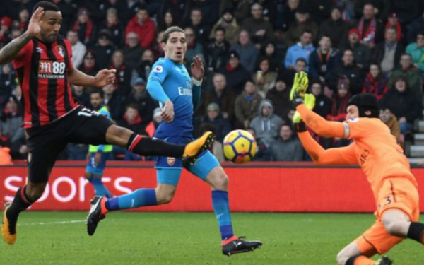 Bournemouth 2-1 Arsenal player ratings, stats and reaction: Gunners suffer second half collapse and Arsene Wenger's side fall behind in top four race