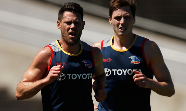 Crows' running man keeps up the hot pace