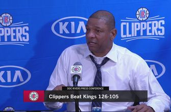 Clippers 126, Kings 105 (1/13)