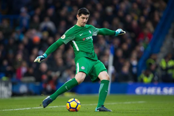 Chelsea star Thibaut Courtois hits out at fans following goalless draw with Leicester City