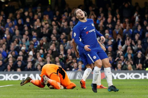 Chelsea 0-0 Leicester: Blues miss out on chance to go second after being held by 10-man Foxes - 5 talking points